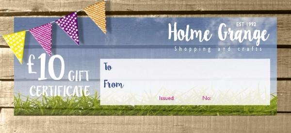 Holme Grange Village Gift Voucher