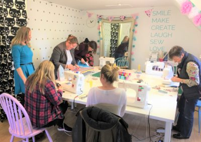 sewing classes wokingham berkshire parties